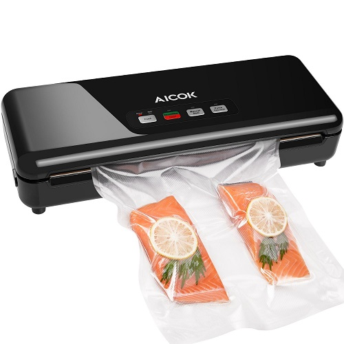 Aicok Vacuum Sealer, 3 In 1 Automatic Manual Food Sealer