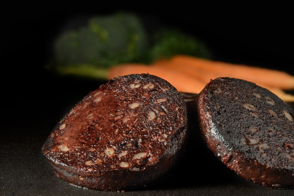 apple bourbon black pudding
