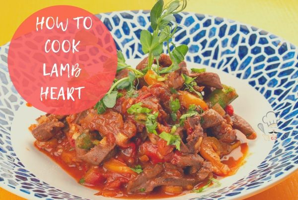 how to cook lamb heart on its own
